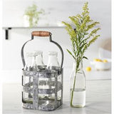 MILK BOTTLE CADDY SET
