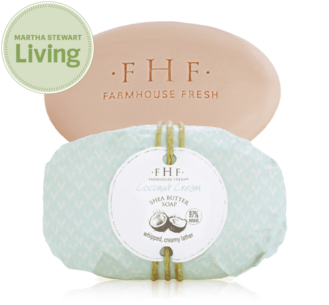 Farmhouse Fresh Coconut Cream Shea Butter Bar Soap