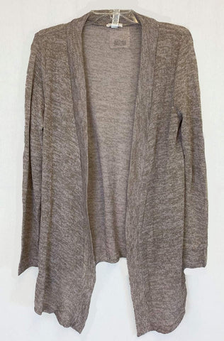 Heather Beige Lightweight  Cardigan