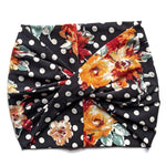 Retro Floral Women's Wide Headband