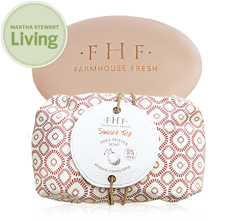 Farmhouse Fresh Sweet Tea Shea Butter Bar Soap