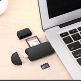 3 in 1 High Speed Card Reader USB Micro SD Android