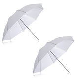 "Neewer 2 Pack 33"" Soft Umbrella - White"