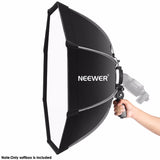Neewer 26 inches Octagonal Softbox with S-Type Bracket (Nikon & Canon Speedlight)