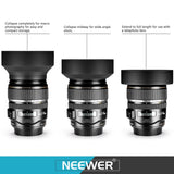 Neewer 52MM Lens Filter & Accessory Kit UV CPL FLD + Macro Set