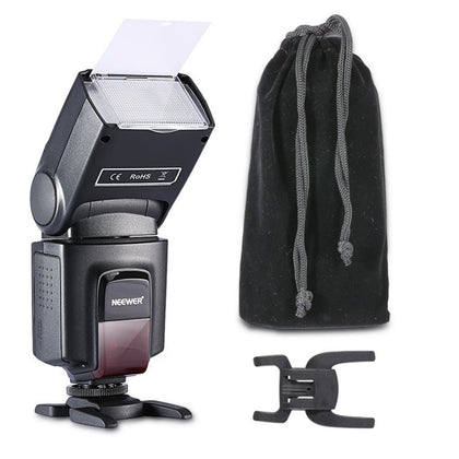 Neewer TT560 Flash Speedlite with Standard Hot Shoe & Softbox