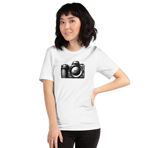 Nikon Z6 Camera Body Short-Sleeve Unisex Fan T-Shirt