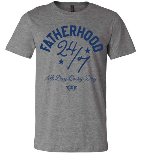 Fatherhood 247 / Blue Grey
