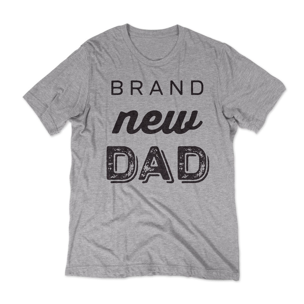 154a55bad Brand New Dad T-shirt / Grey | – PopLyfe | Tshirts for Dads | Gifts for Dads