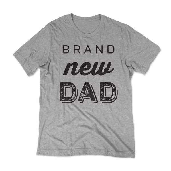 Brand New Dad T-shirt / Grey
