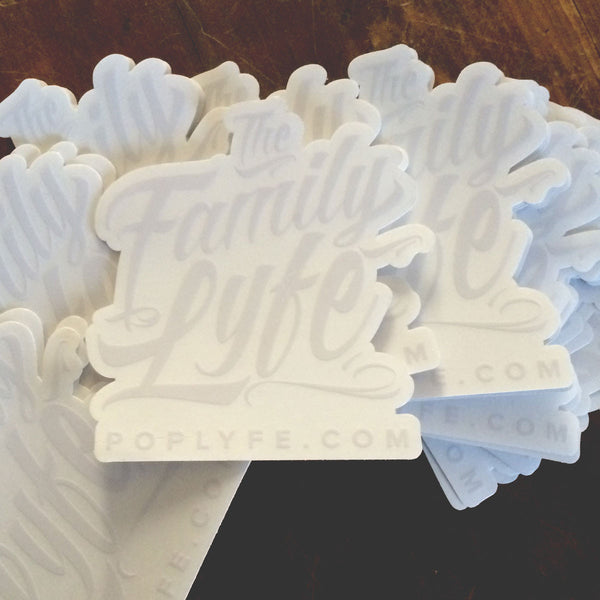 Family Lyfe Family Decal