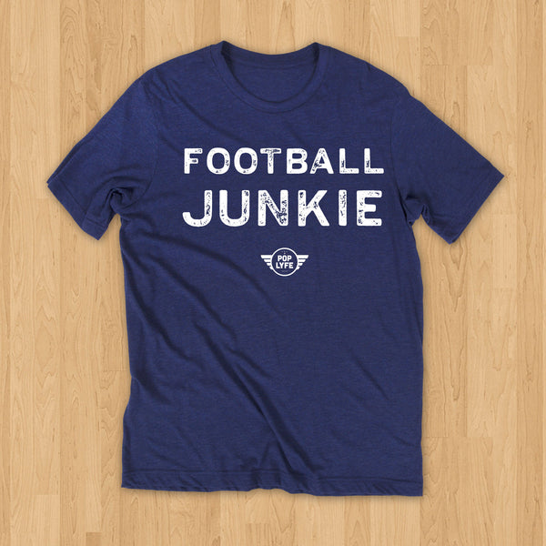 Football Junkie Varsity // Blue