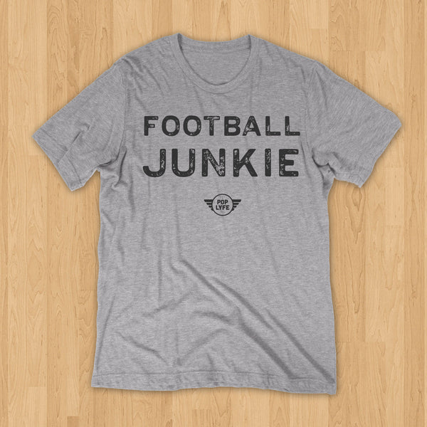 Football Junkie Varsity // Grey