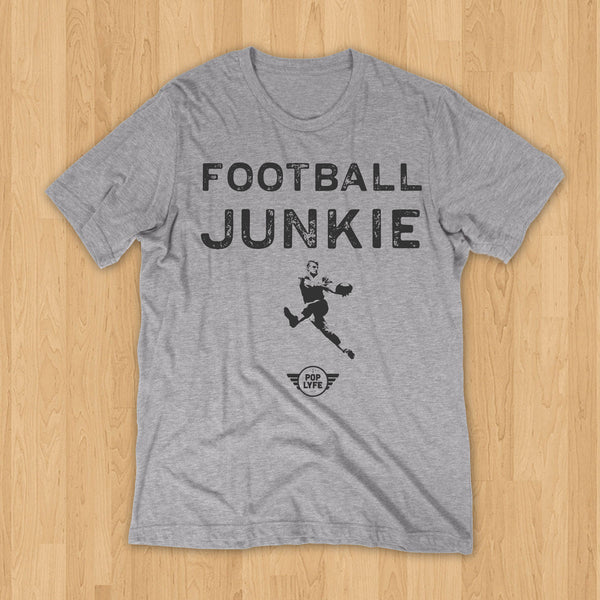 Football Junkie Semi-Pro // Grey