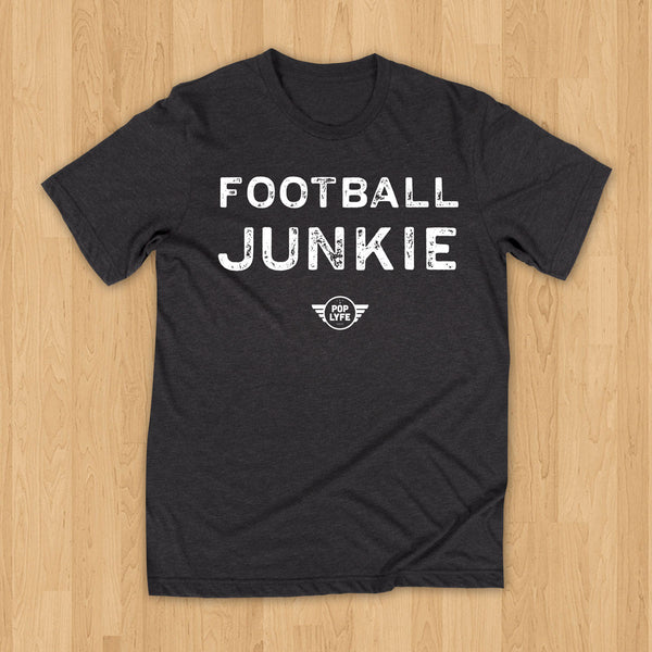 Football Junkie Varsity // Charcoal