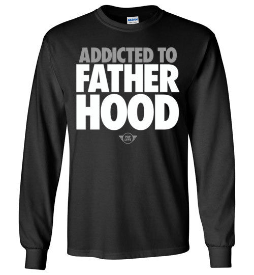 Addicted to Fatherhood Futura / LS Black