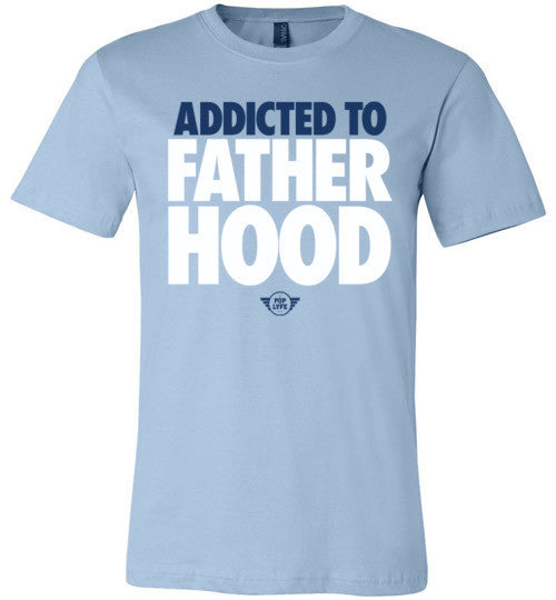 Addicted to Fatherhood Futura / Sky Blue