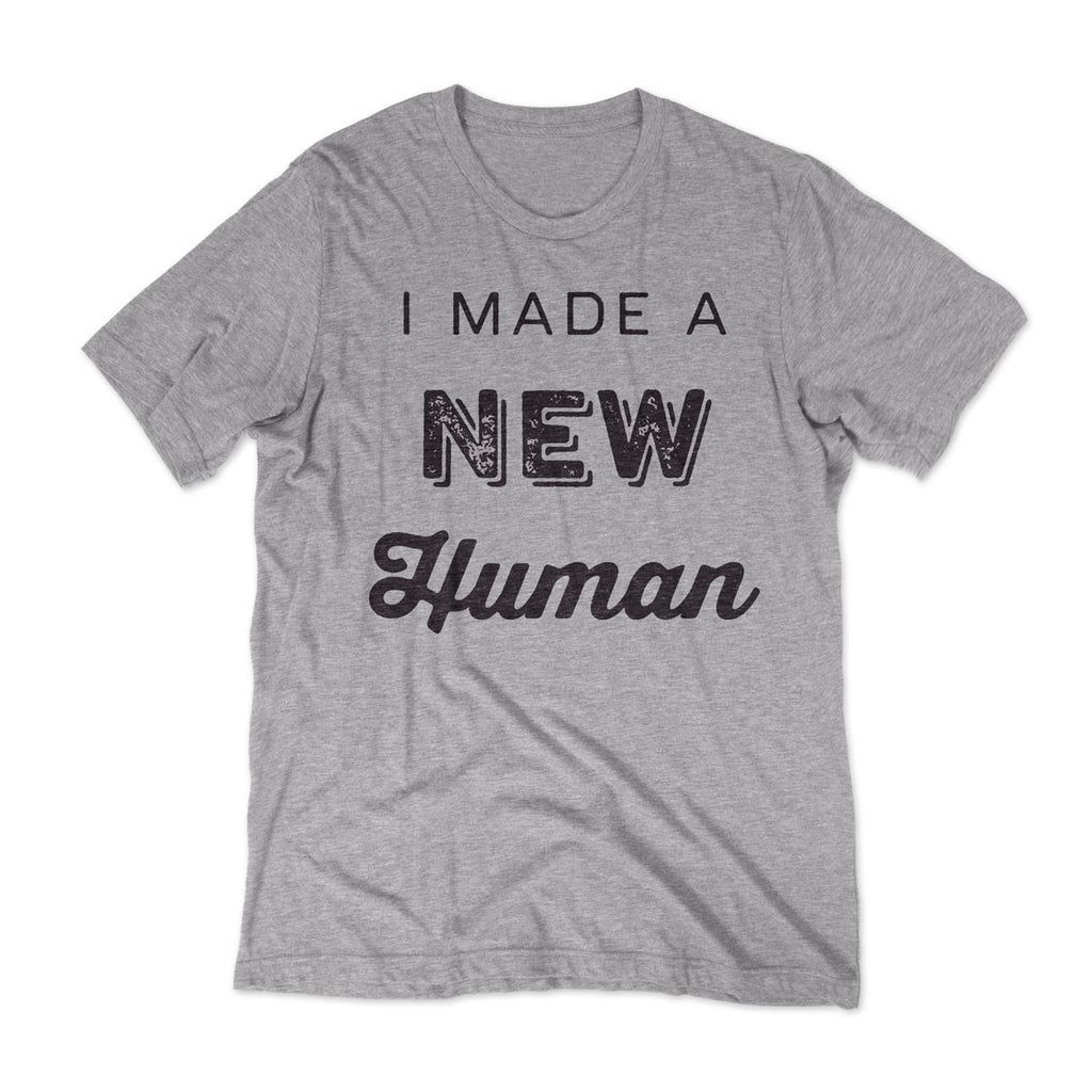 3033ff30 New Human - New Dad T-shirt / Grey | – PopLyfe | Tshirts for Dads | Gifts  for Dads