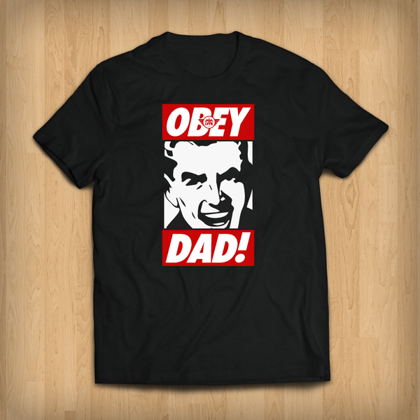OBEY DAD / Black