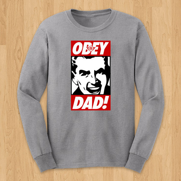 OBEY DAD / LS Grey