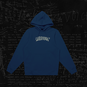 "Aspects ""Arson"" Hoodie - Navy Blue"