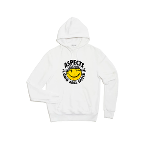 "Aspects ""Blows Your Mind"" Hoodie - White"