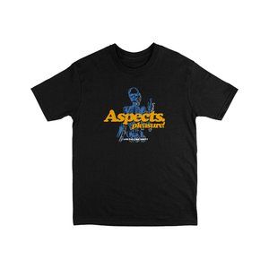 "Aspects ""Pleasures"" T-Shirt - Black"