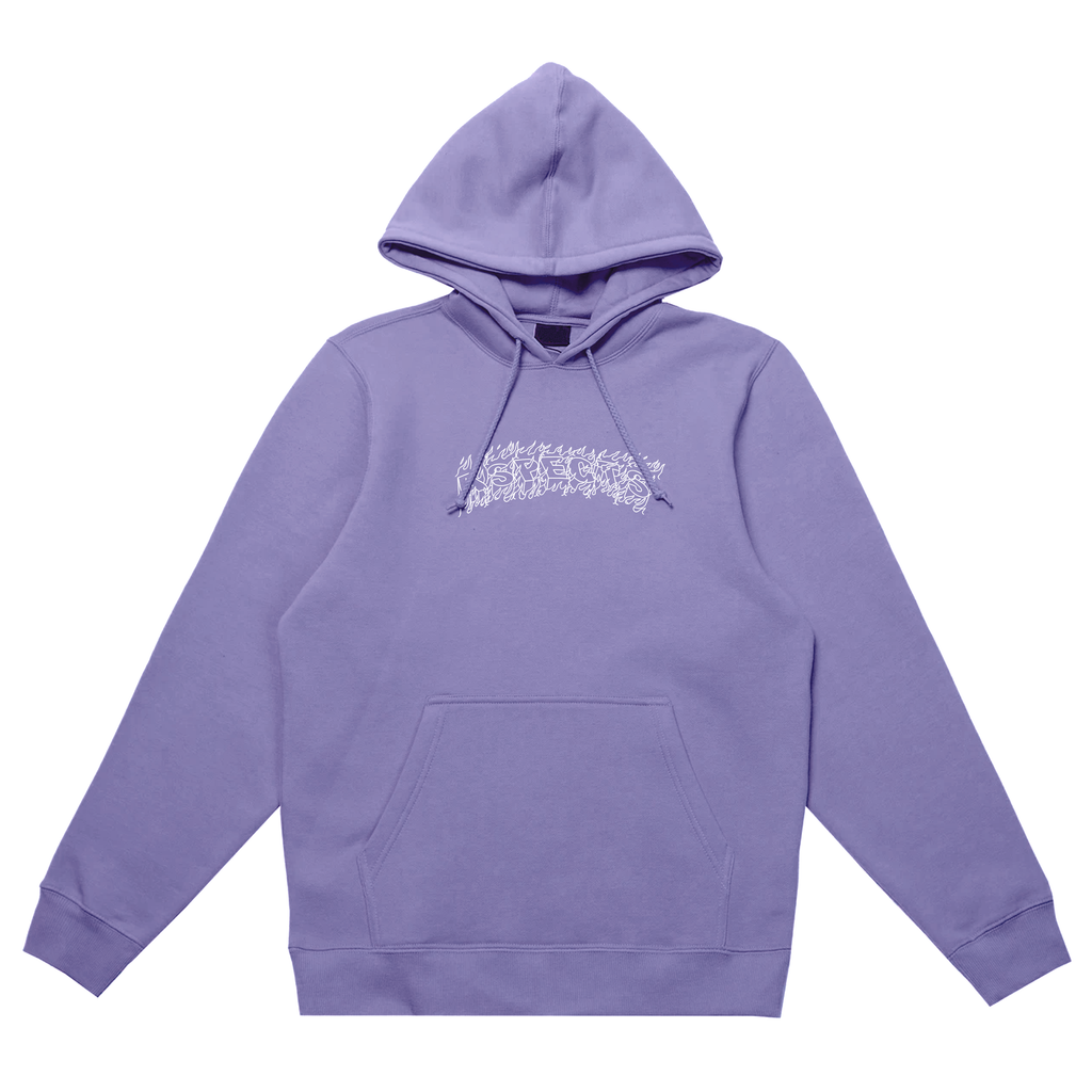 "Aspects ""Arson"" Hoodie - Light Purple"