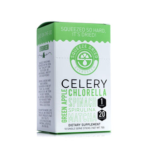 SQUEEZE DRIED EVERGREEN CELERY + FREE SQUEEZE DRIED EVERGREEN CELERY