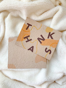all thanks — seeded postcards