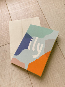 ily — greeting card