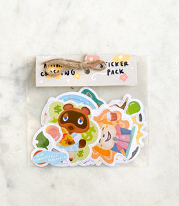 travelling wildlife pals — sticker pack of 15