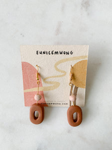 donuts — dangle earrings