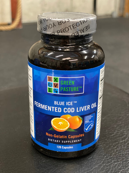 Blue Ice- Green Pastures Fish Oil