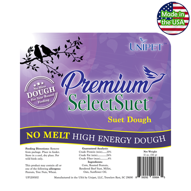 Premium Select Suet - No Melt High Energy Suet Dough