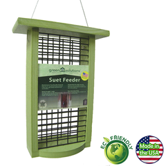 Green Solutions Double Suet Feeder