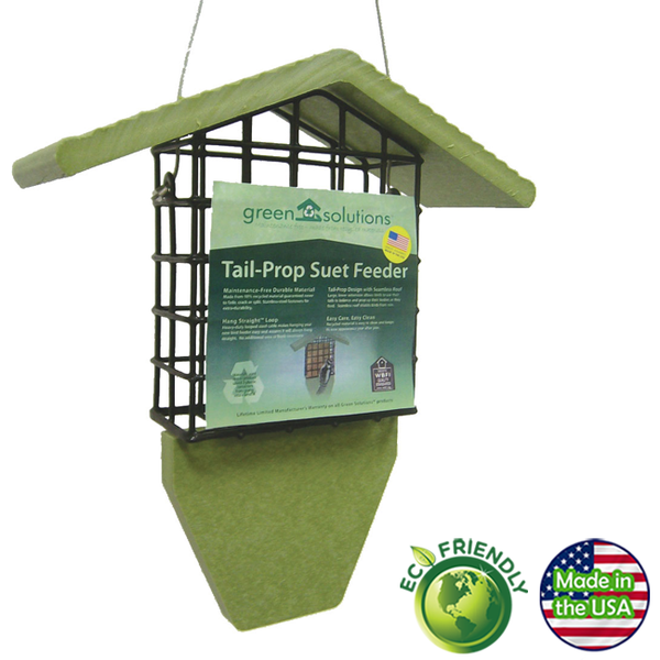 Green Solutions Tail Prop Suet Feeder