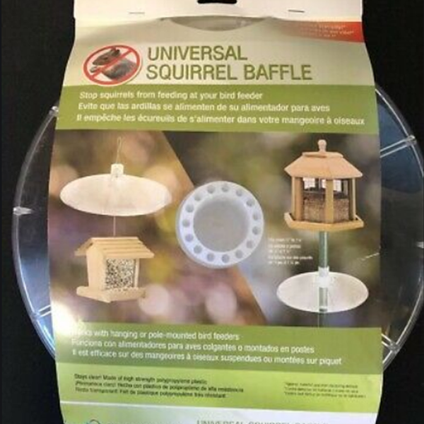 Universal Squirrel Baffle