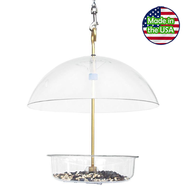 Droll Yankees X-1 Seed Saver Domed Feeder