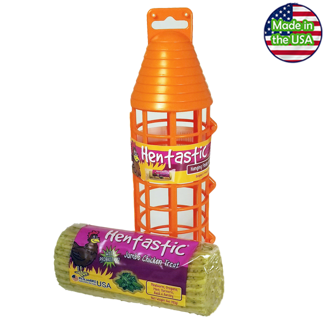 Hentastic Hanging Jumbo Treat Feeder Combo