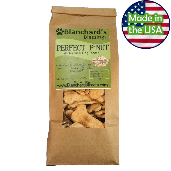 Blanchard's Blessings Perfect P'Nut Dog Treats