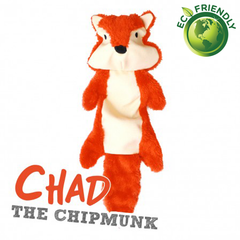 BecoPets Stuffing Free Chipmunk Toy