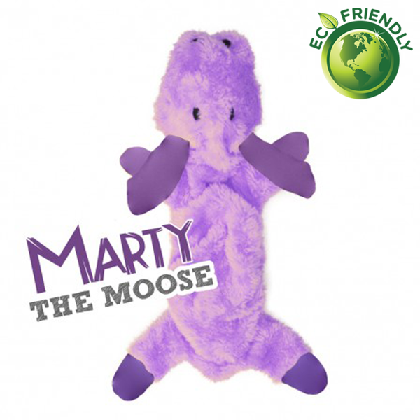 BecoPets Stuffing Free Moose Toy