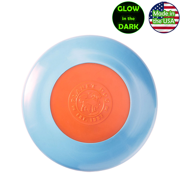 Planet Dog Zoom Flyer Frisbee Disc - Glow in the Dark