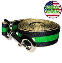 Paw Paws Dog Leash - Prep School Nate Medium