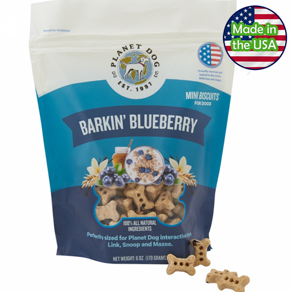Planet Dog Barkin' Blueberry Treats