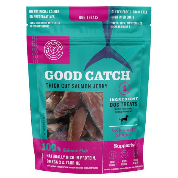 Good Catch Salmon Thick Cut Jerky