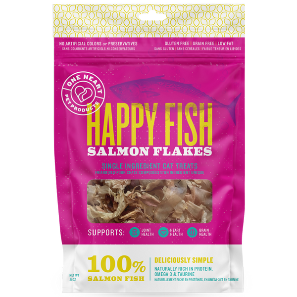 Happy Fish Salmon Flakes