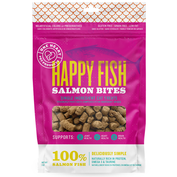 Happy Fish Salmon Bites