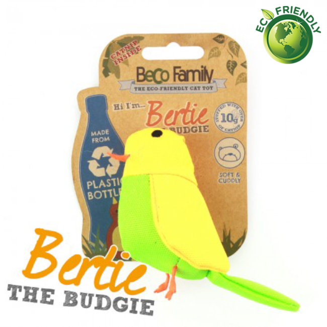 BecoPets Catnip Budgie Toy